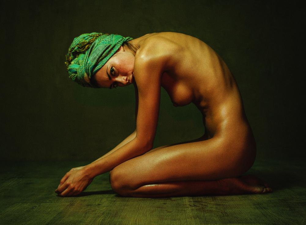 A piece of fine art art photography titled Katrin by Zachar Rise