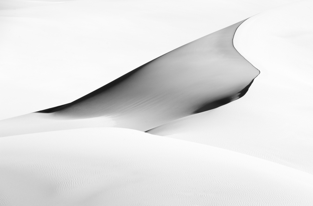 A piece of fine art art photography titled Shadow Lines by Bradley Bush