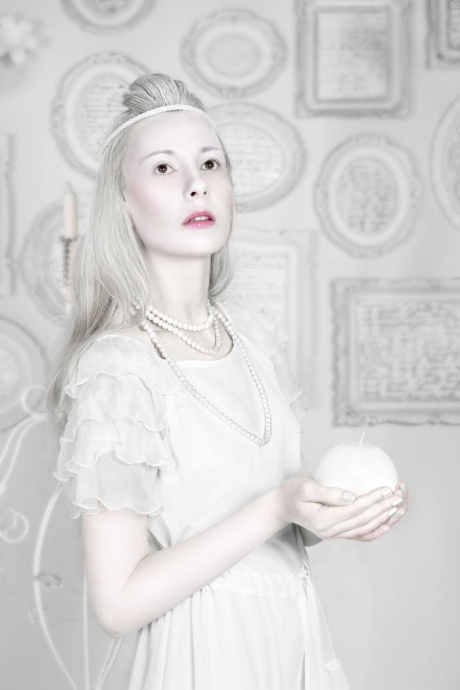 A piece of fine art art photography titled Porcelain Doll by Stefan Amer