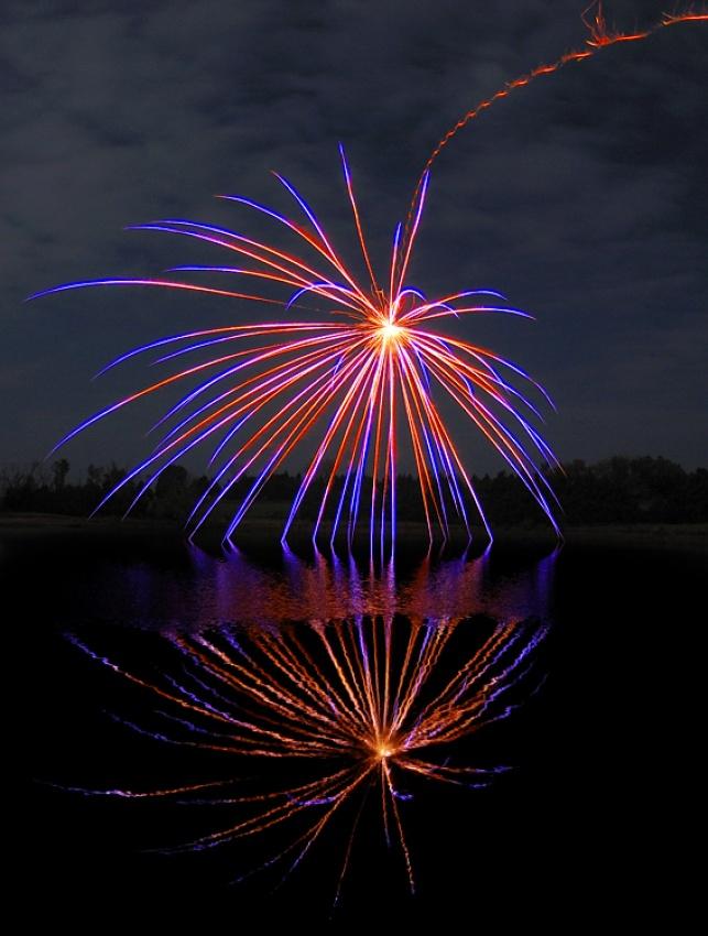 A piece of fine art art photography titled Fire Spider by Jeffrey J. Meyers
