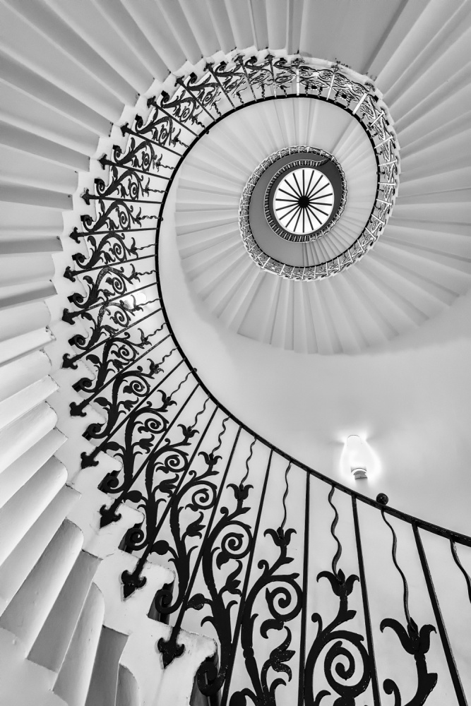 The Queen's House Tulip Staircase