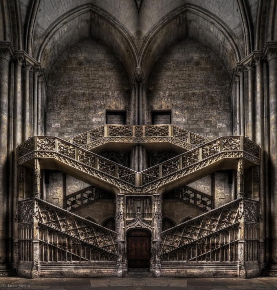 Tribute to Escher