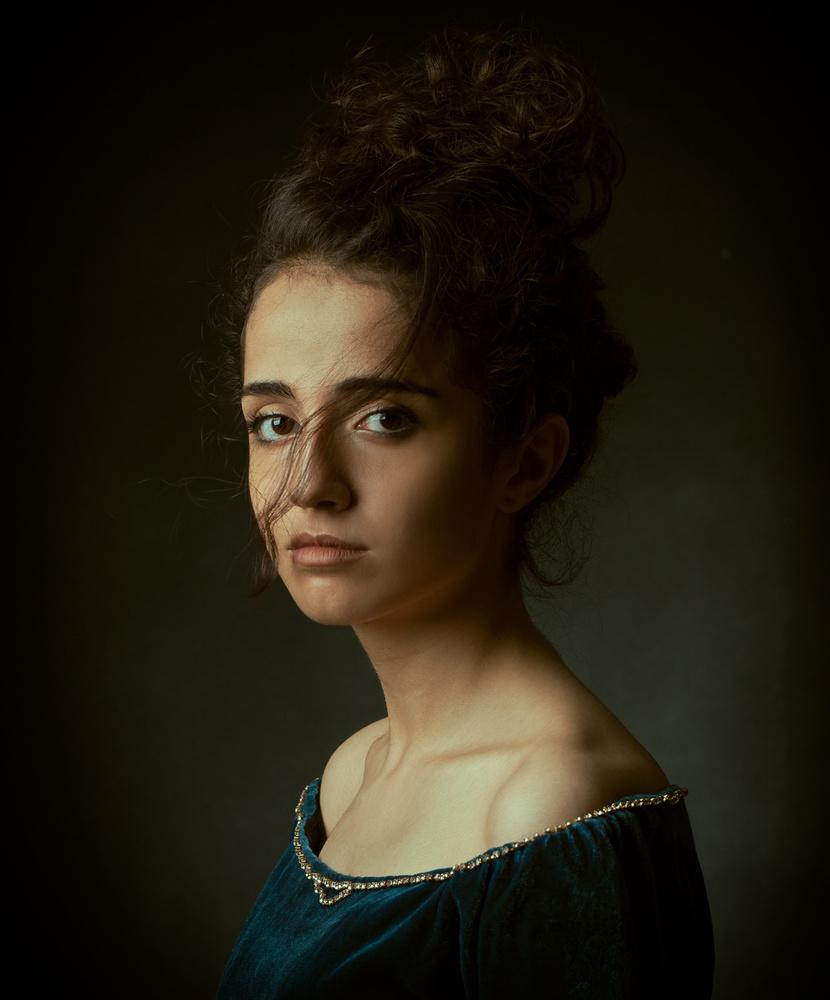 A piece of fine art art photography titled Negin by Mehdi Mokhtari