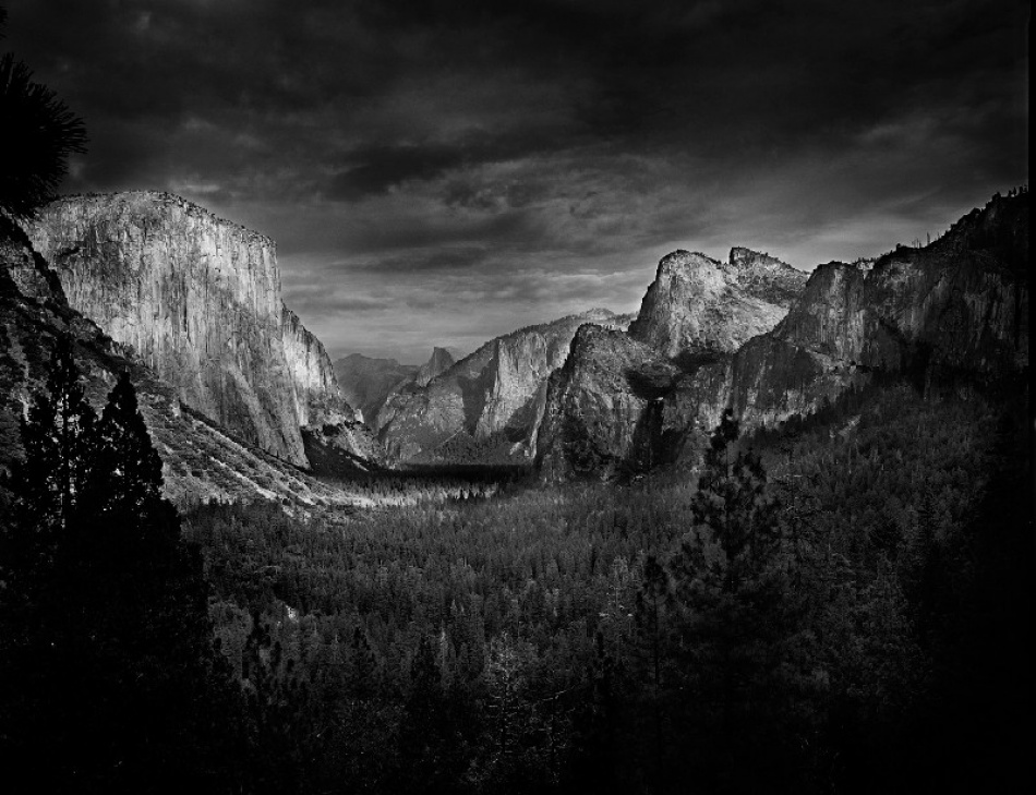 A piece of fine art art photography titled Yosemite Valley by Shailendra
