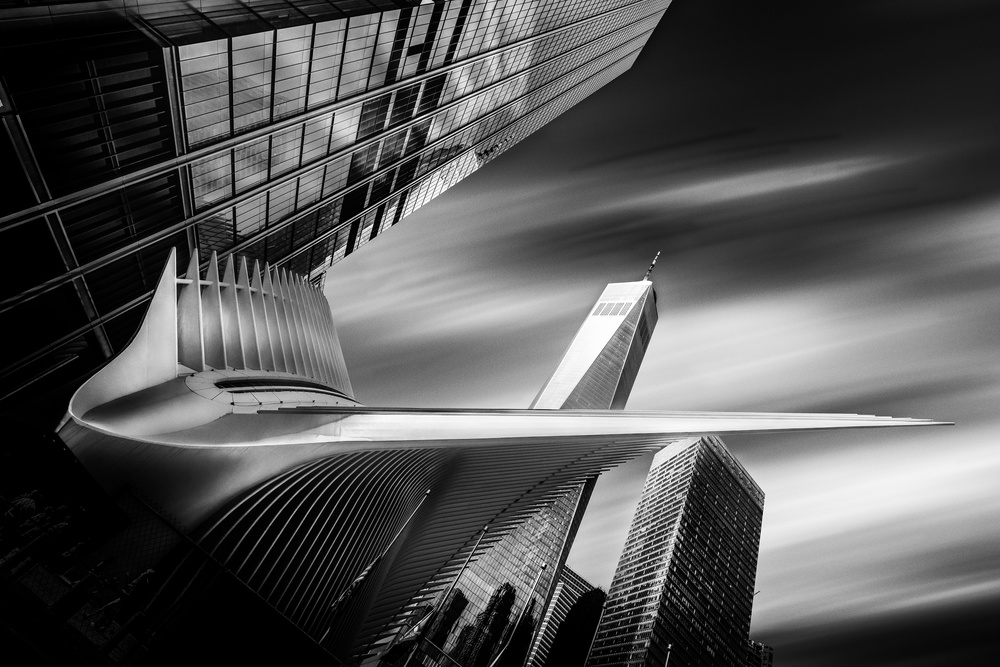 A piece of fine art art photography titled America In Noir #7 by Jackson Carvalho