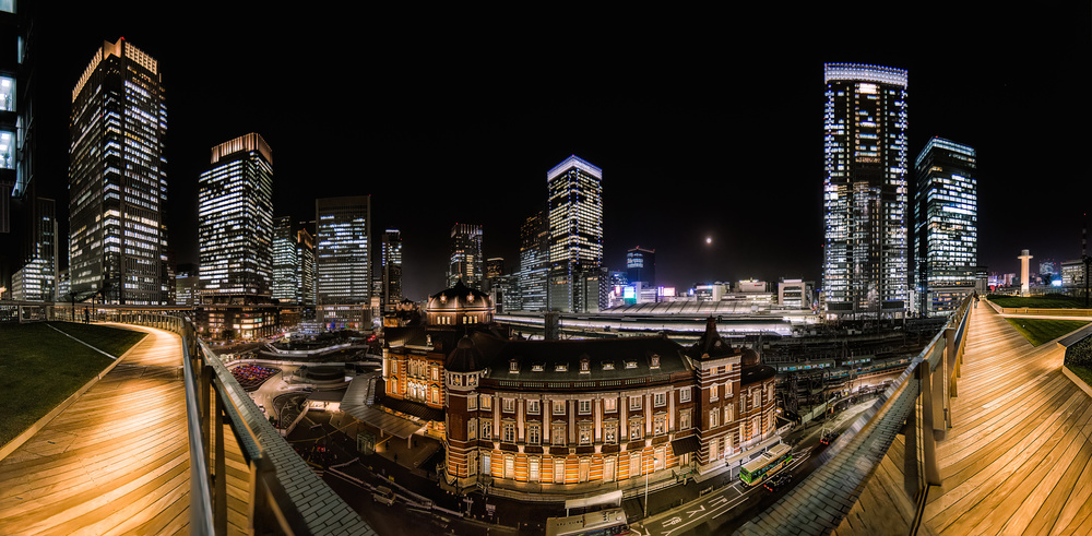 A piece of fine art art photography titled Tokyo Station 20 by David Ros