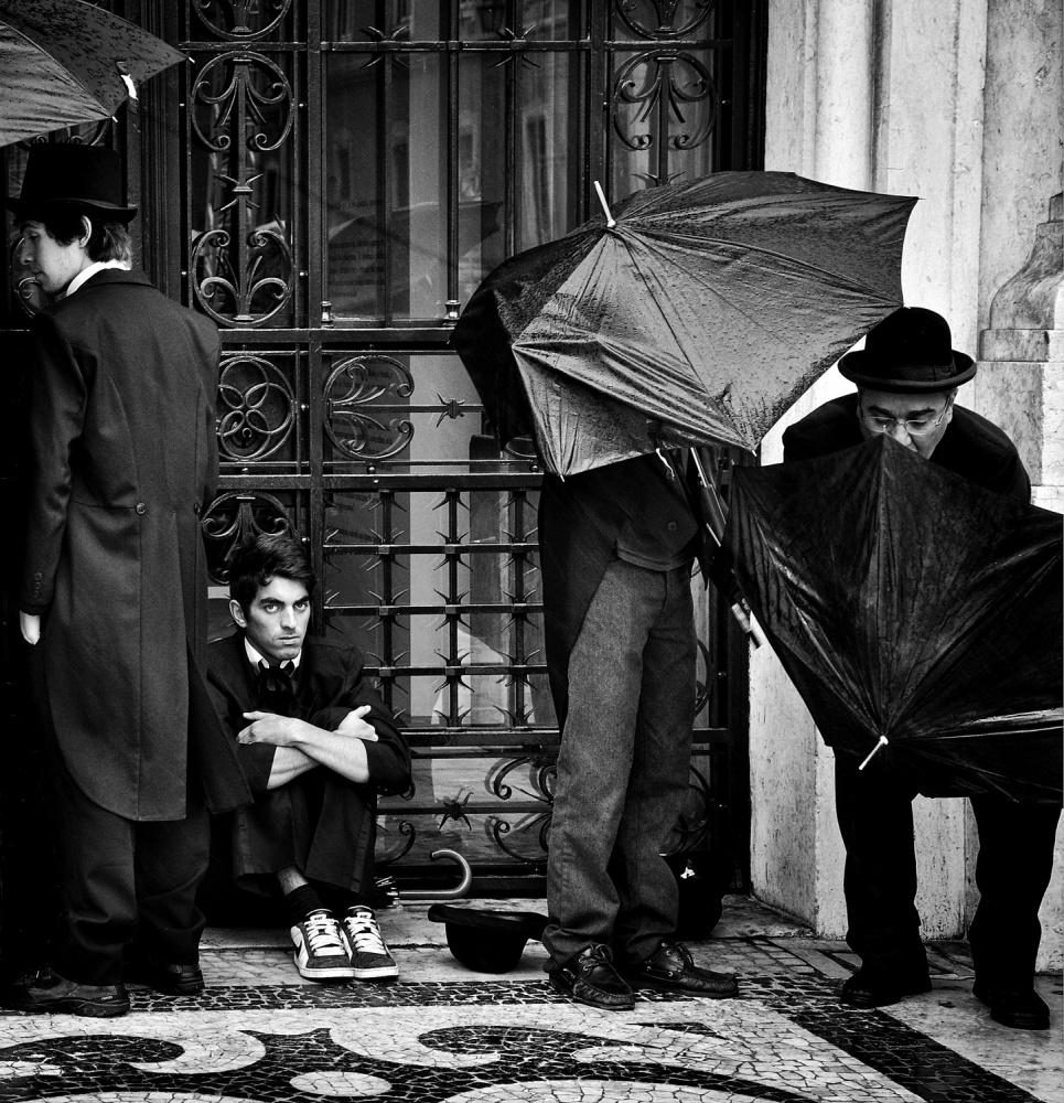 A piece of fine art art photography titled Rainy Days by Mirela Momanu