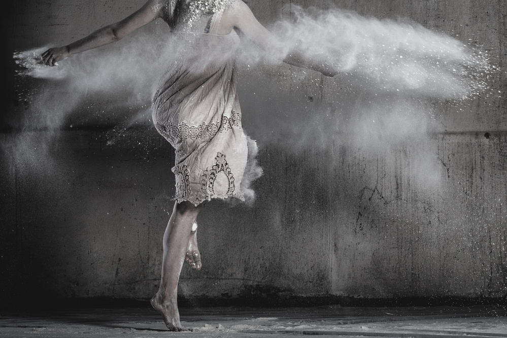 A piece of fine art art photography titled Dance by Ela Stein