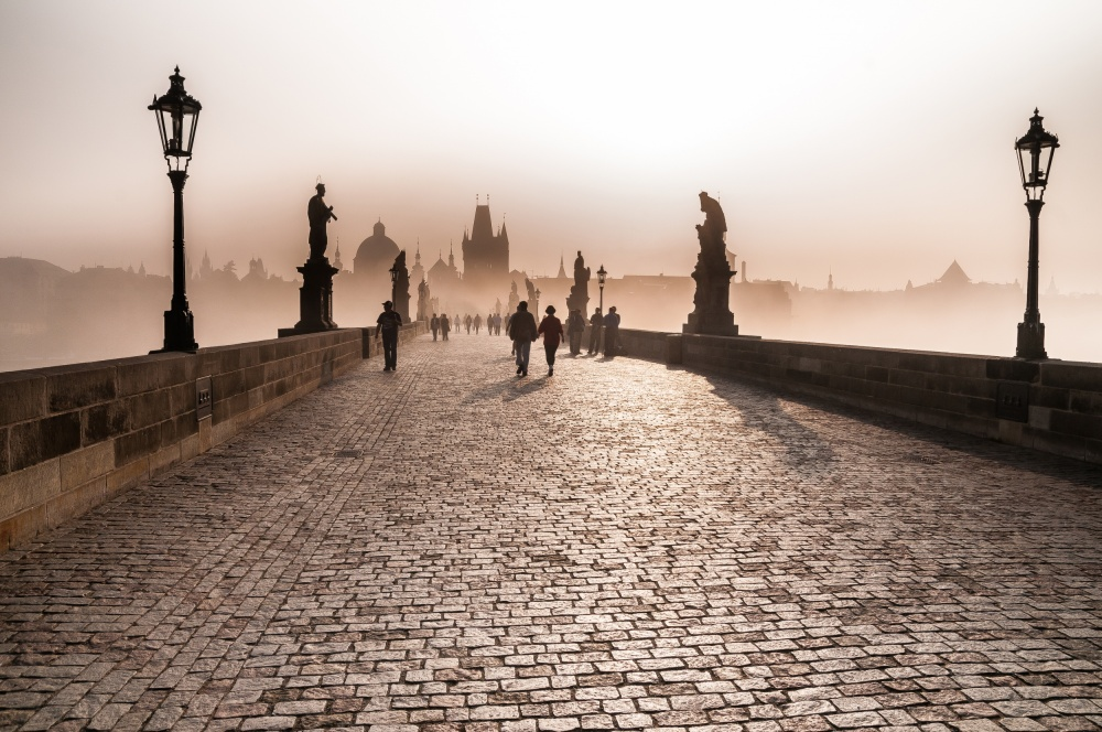 A piece of fine art art photography titled Prague by Gonçalo Simões