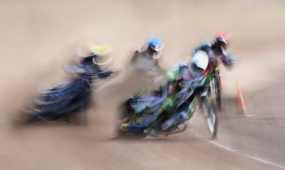 A piece of fine art art photography titled Speedway by Lou Urlings