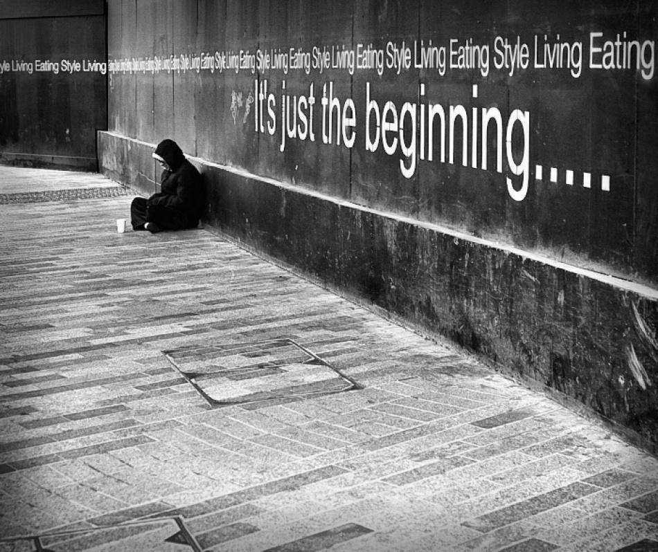 A piece of fine art art photography titled Beginning by Lukasz