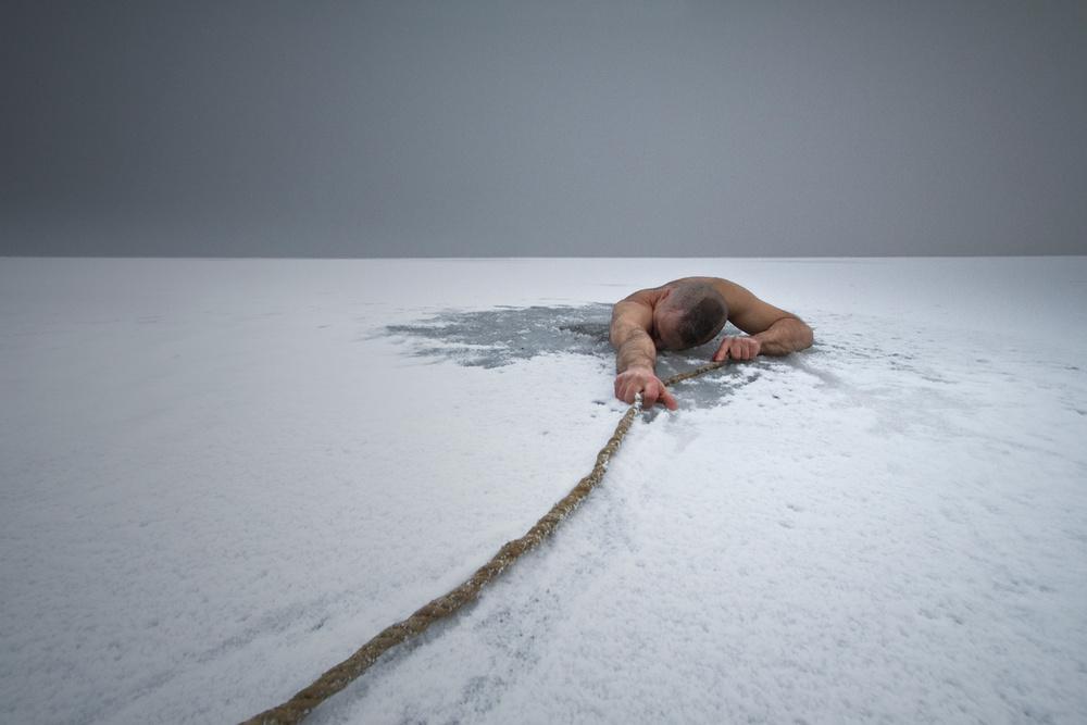 A piece of fine art art photography titled Defeated by Leszek Paradowski
