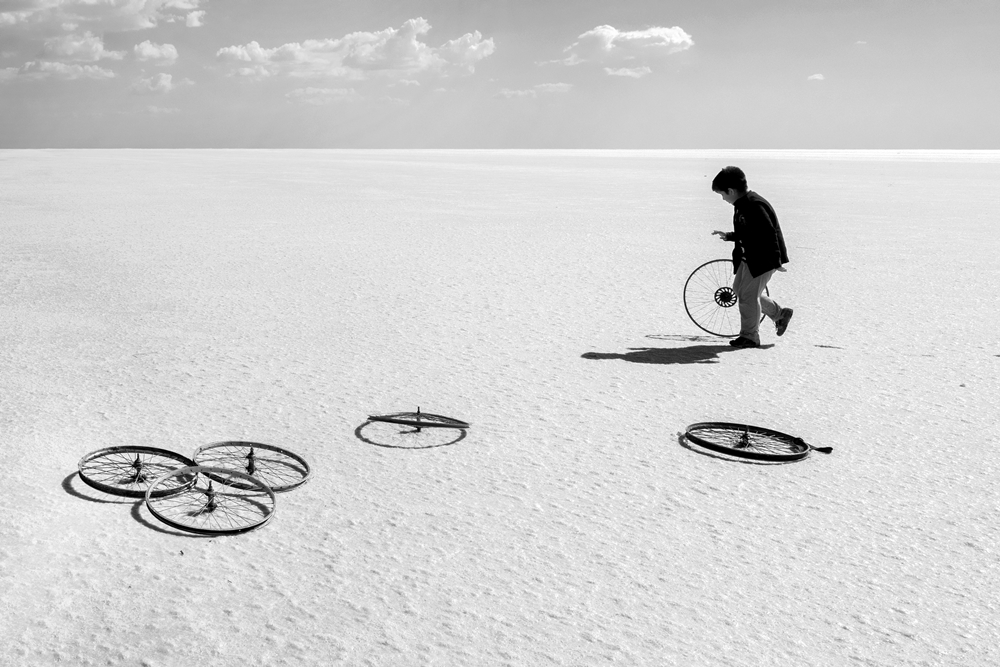 A piece of fine art art photography titled Game by Caner Başer