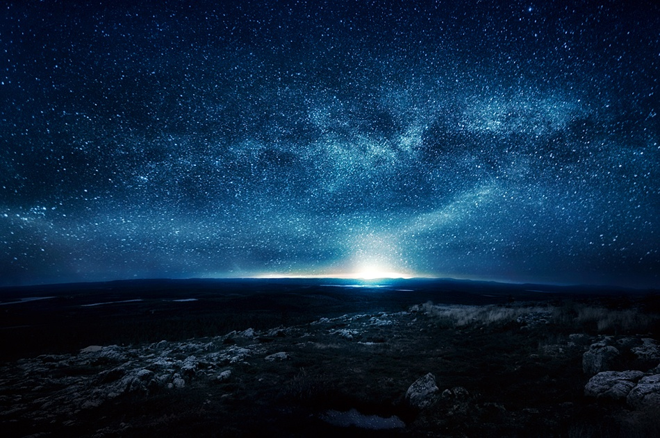 A piece of fine art art photography titled Night by Mikko Lagerstedt