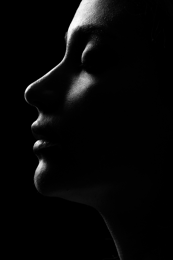 A piece of fine art art photography titled The Darkness by Saeed Arabzadeh