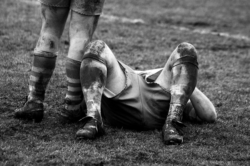 Rugby: tired