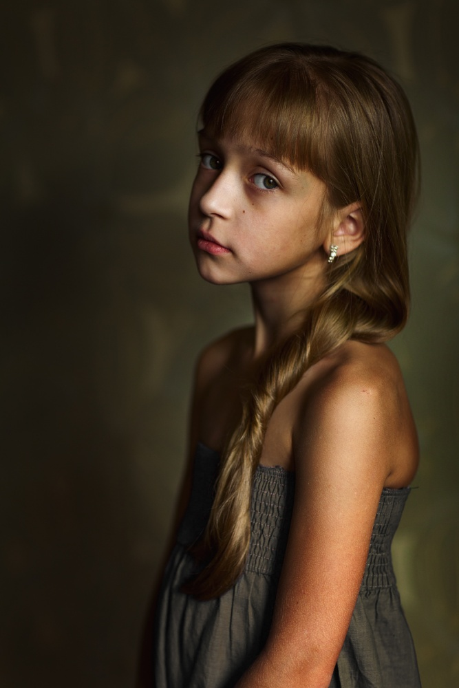 A piece of fine art art photography titled Portrait of Sonia by Kharinova Uliana