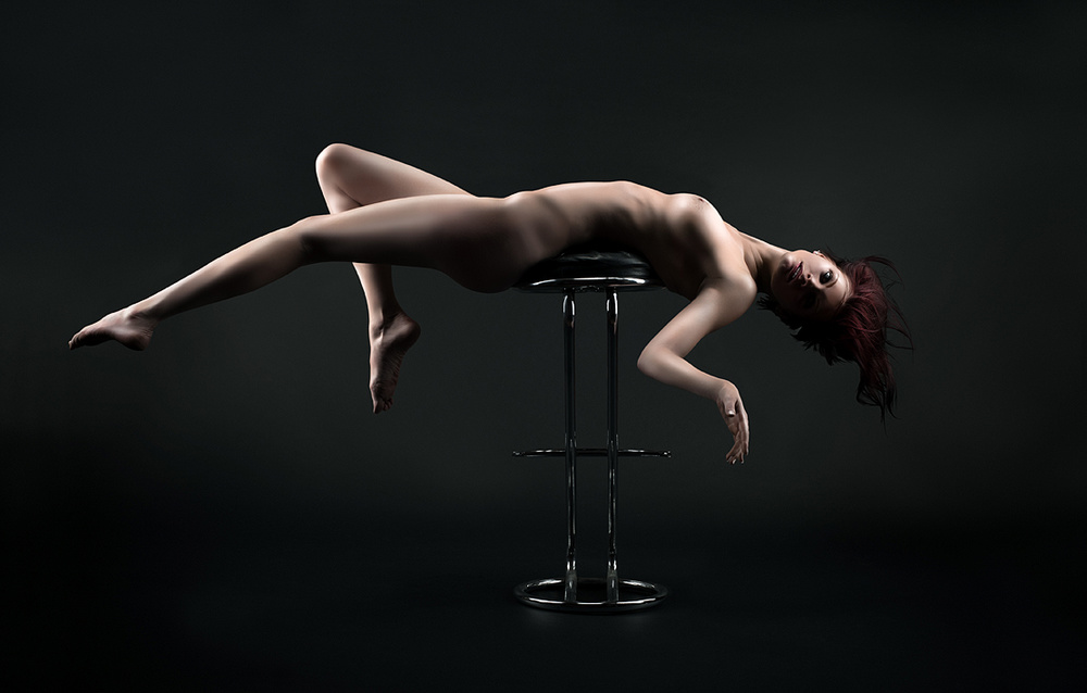 A piece of fine art art photography titled Presenting Saphyra Da Myra No30 - Bremen/Germany 2013 by Robert Komarek
