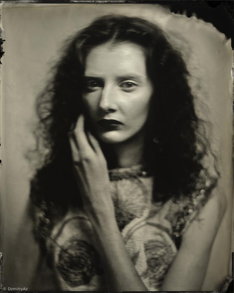 Kate,Tintype 20x25cm ,Scan