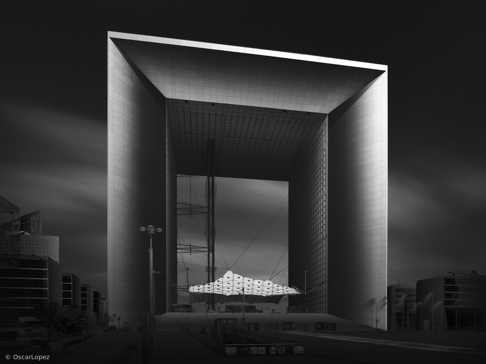 Grande Arche - Enlighted