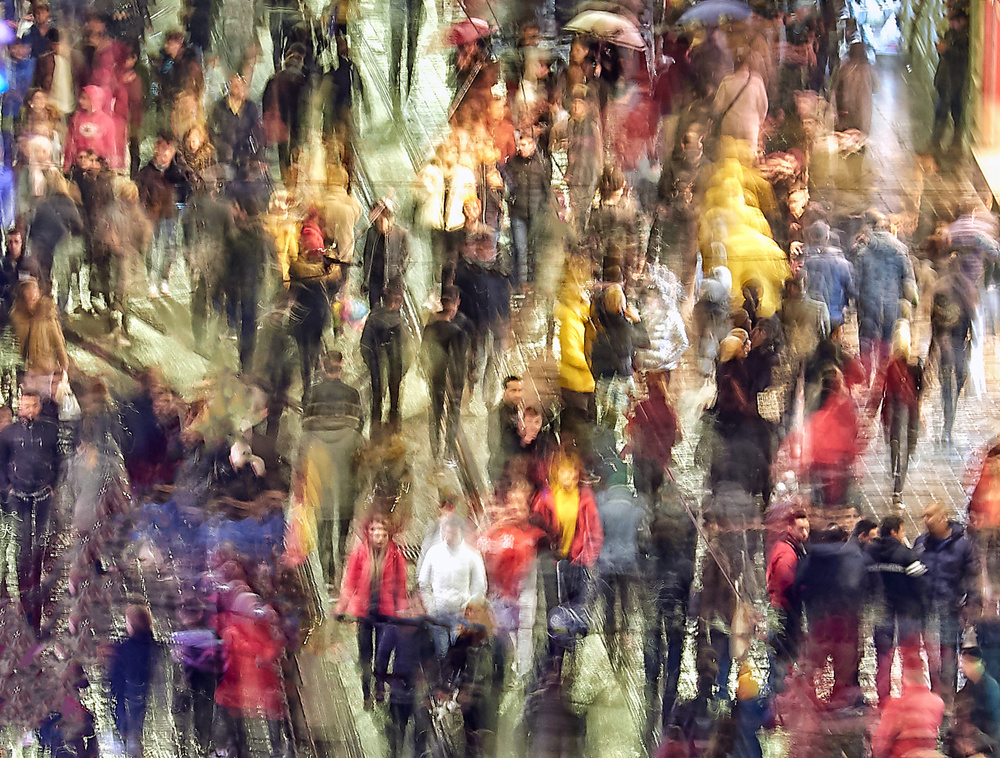 View this piece of fine art photography titled Crowded loneliness by Massimo Mei