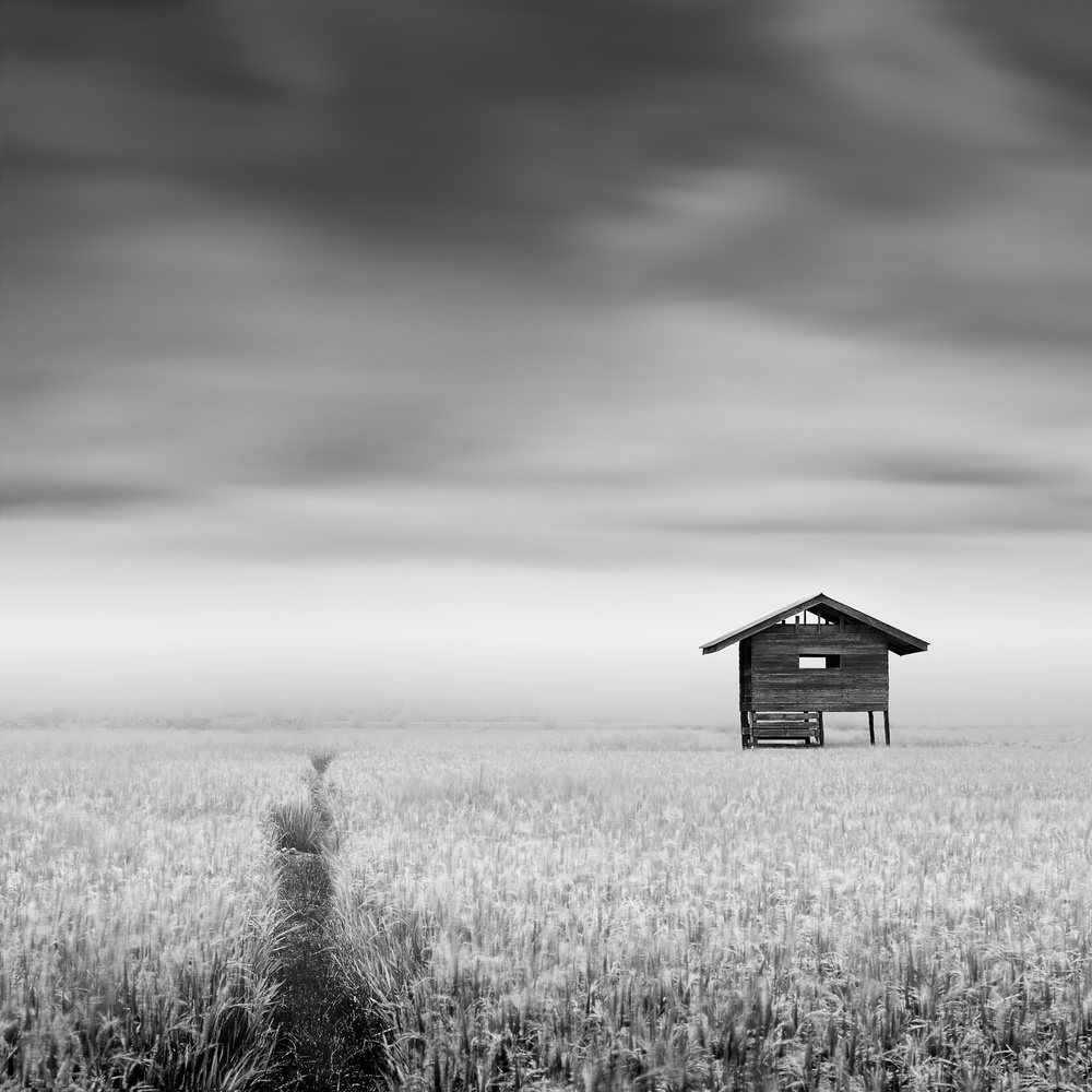 A piece of fine art art photography titled Little House by Patricia Soon