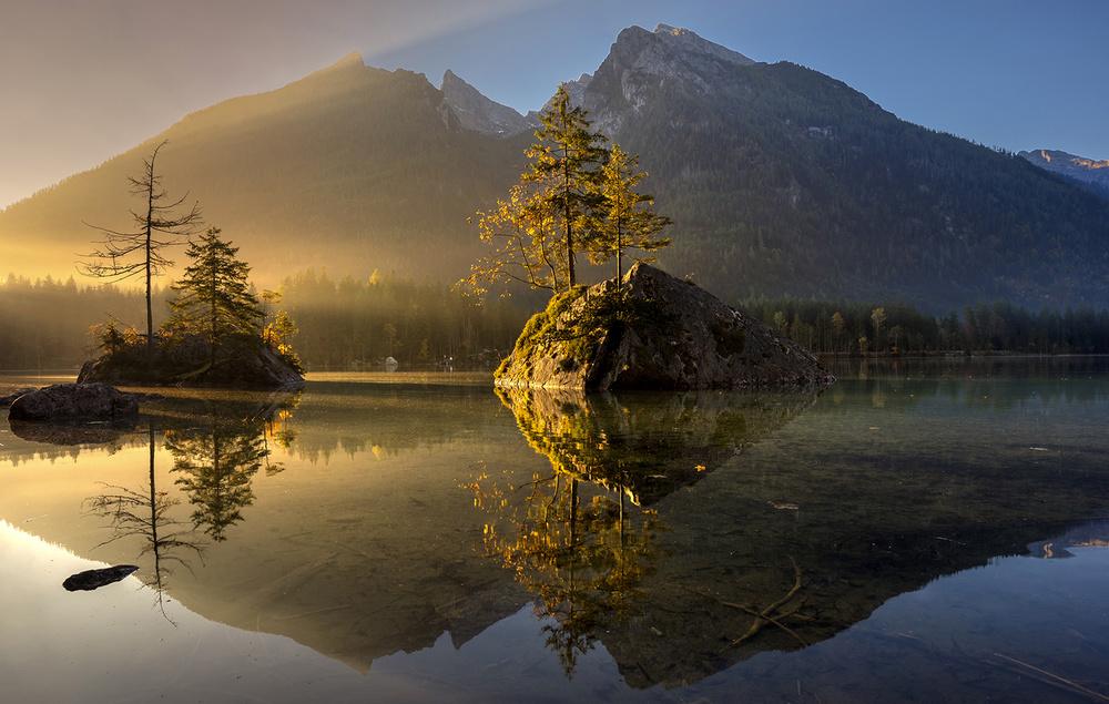 A piece of fine art art photography titled Golden Morning by keller