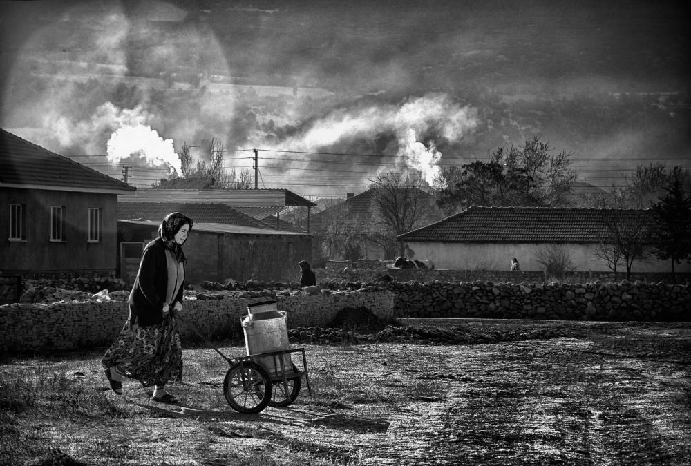 A piece of fine art art photography titled Milk by Veli Aydogdu