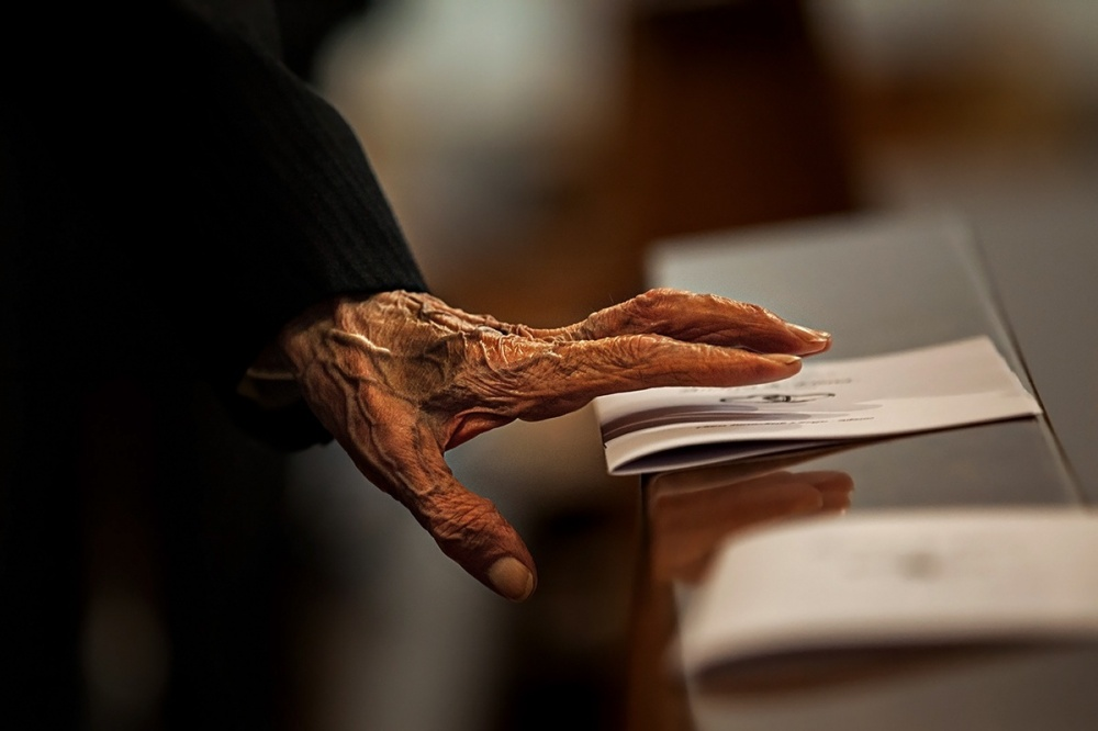 A piece of fine art art photography titled Hand by Alessandro Bergamini