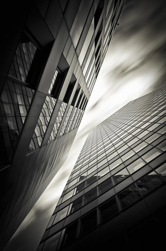 A piece of fine art art photography titled Verticals #7 by Arkadius Zagrabski