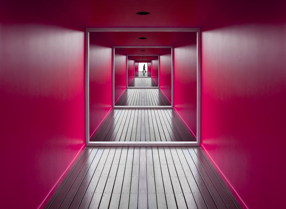 A piece of fine art art photography titled Exit by Jacqueline Hammer