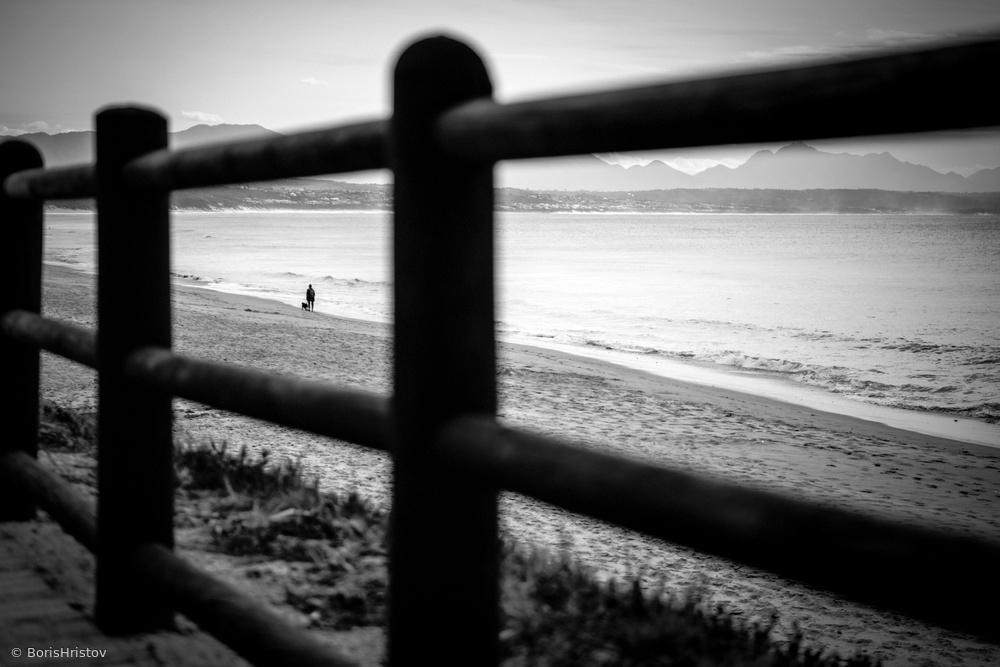 Op die strand