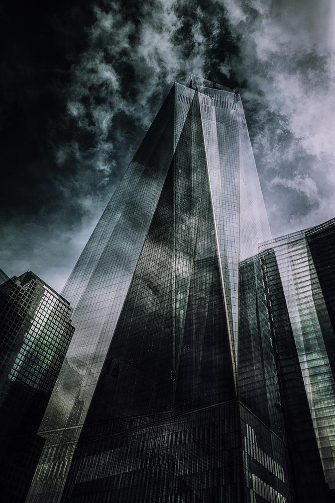 A piece of fine art art photography titled Grattacieli1 by Massimo Della Latta