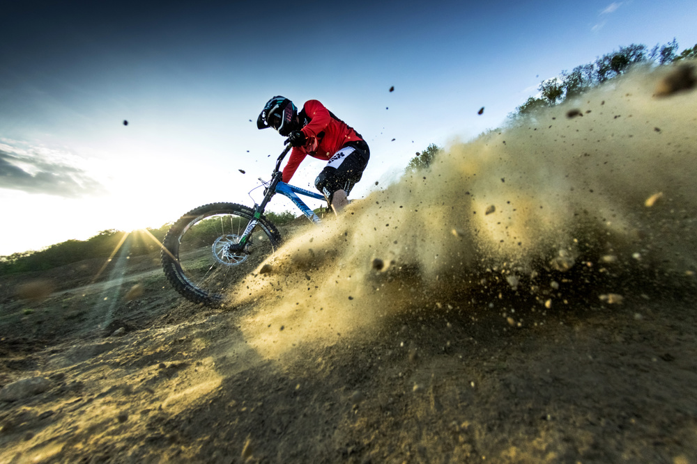 A piece of fine art art photography titled Downhill by ATTILA SZABO