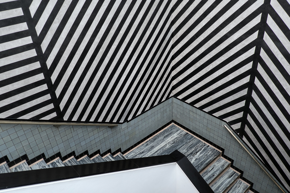 A piece of fine art art photography titled An Overload of Stripes by Lus Joosten