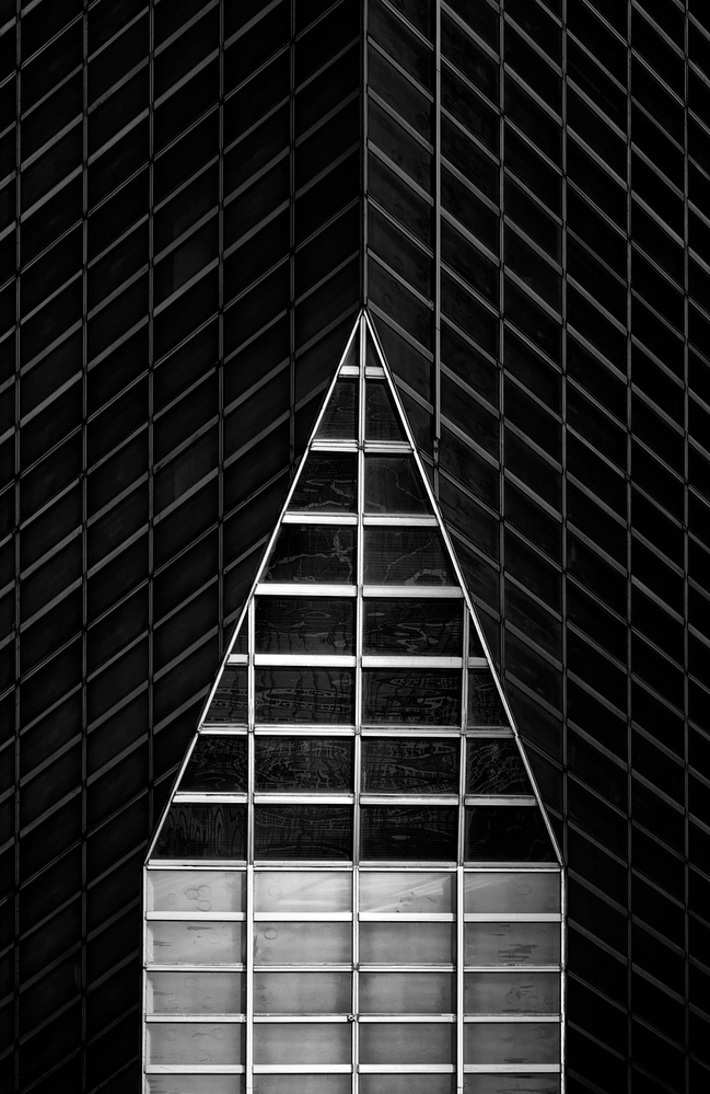 A piece of fine art art photography titled Triangle by Louis-Philippe Provost