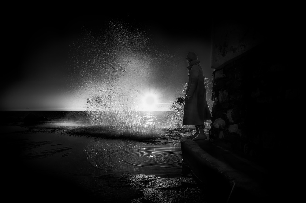 A piece of fine art art photography titled Homage to the Sea by Alessandro Traverso