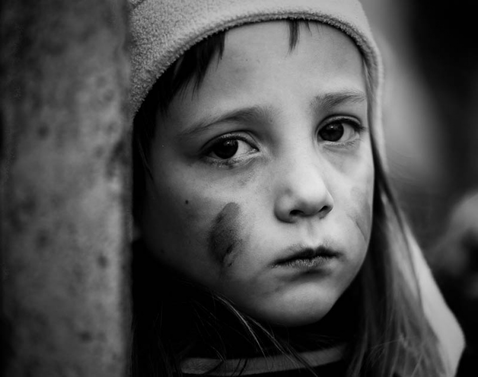 A piece of fine art art photography titled Child by Ziga Gricnik