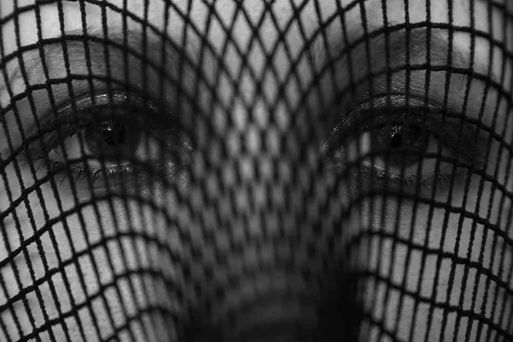 A piece of fine art art photography titled The Imprisoned Mind by David McCracken