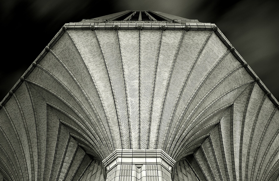 A piece of fine art art photography titled Cathedral - to Business by Stuart Gibson