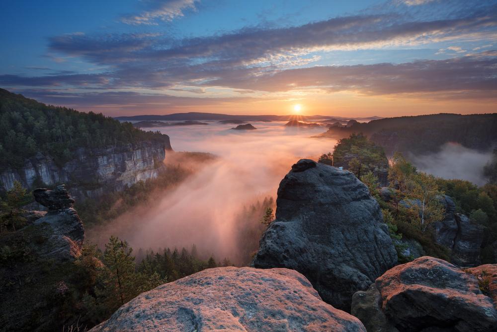 A piece of fine art art photography titled Perfect Morning by Martin Rak