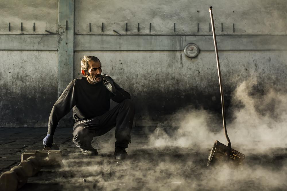 A piece of fine art art photography titled Break by Yasemin Bakan