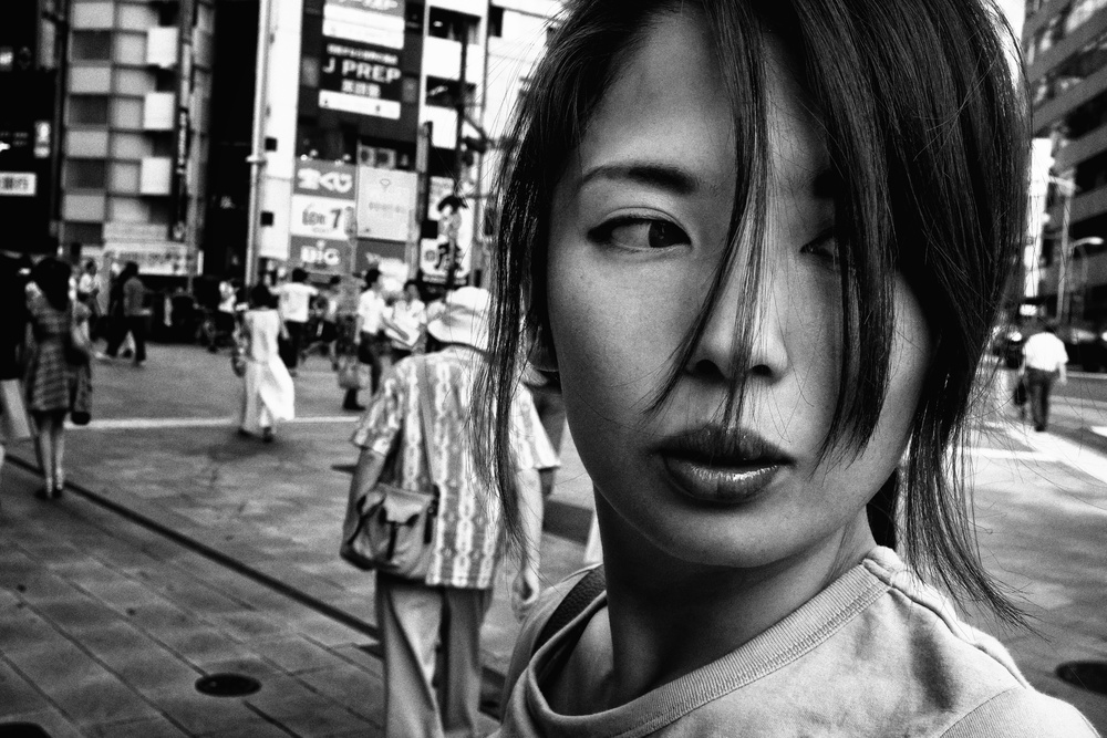 A piece of fine art art photography titled Portrait by Tatsuo Suzuki
