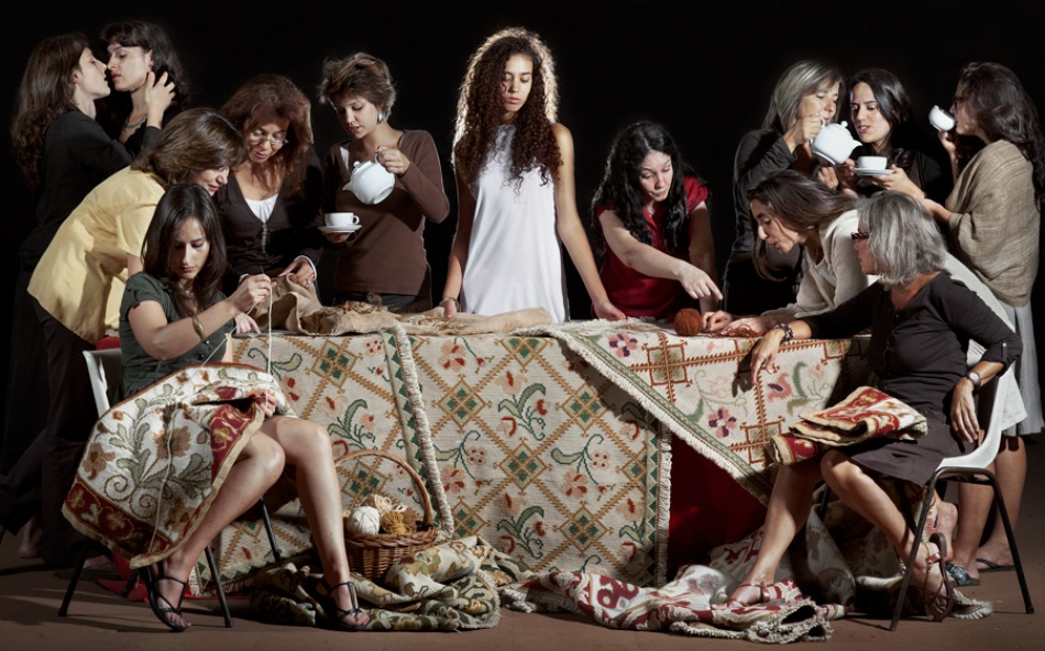 A piece of fine art art photography titled The Last Supper @ Alentejo by De Sousa