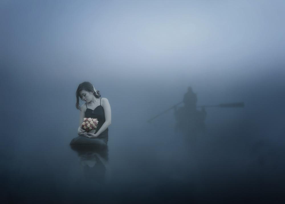 A piece of fine art art photography titled Farewell Serenade by heru agustiana
