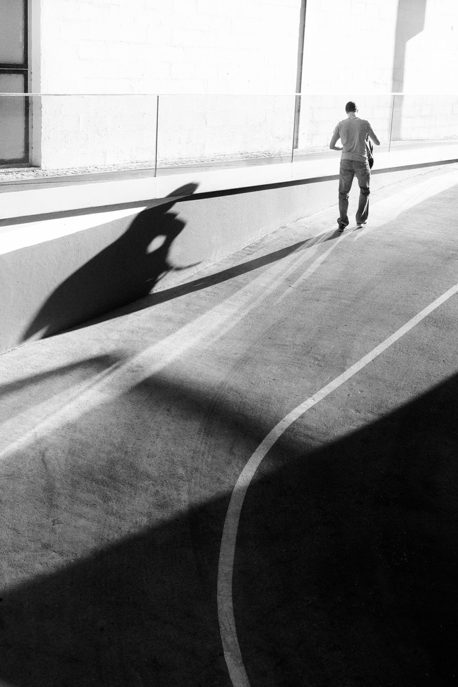 A piece of fine art art photography titled Broken Shadow by Olavo Azevedo