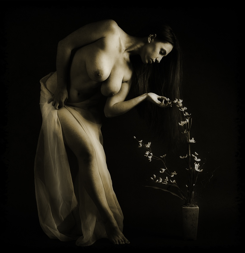 A piece of fine art art photography titled Impressions of Eve by ESPhotography