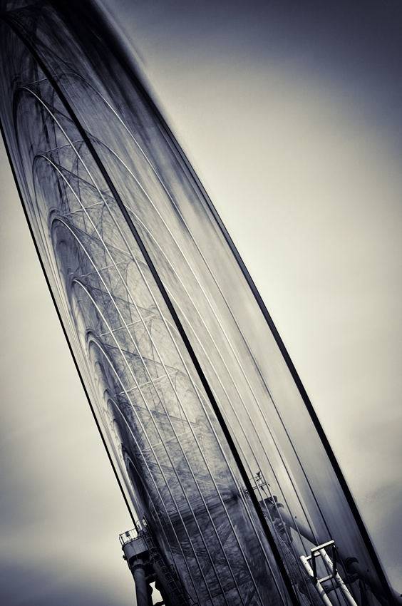 A piece of fine art art photography titled Exposure of the Oval by Takashi