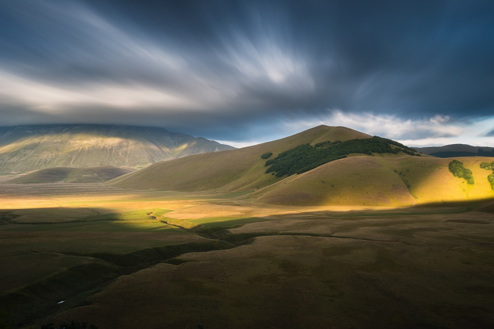 A piece of fine art art photography titled There, Where Rohan Exists II by Enrico Montanari