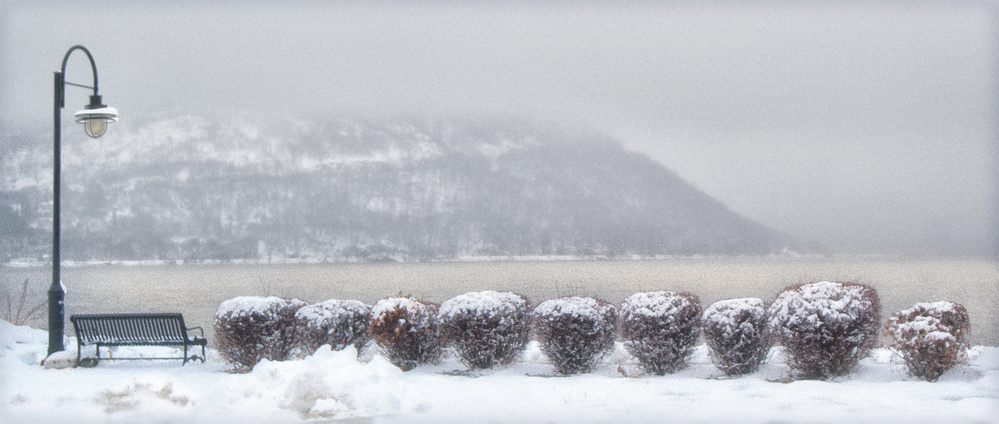 Hudson River on a Winter Day